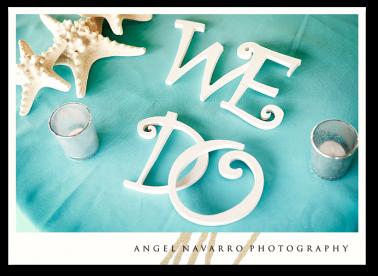 Colorful Wedding Motifs Beach Wedding