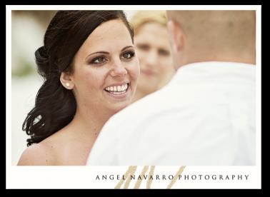 Wedding Beach Vows Bride