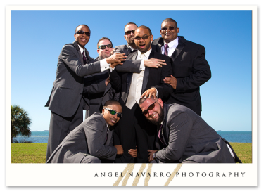 Hilarious Photo of Groomsmen and Groom