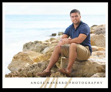 Amazing High School Senior Beach Portrait