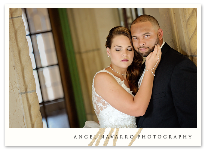 Wedding Photograph of Couple in Sarasota