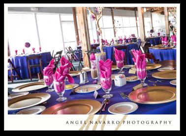 Wedding Reception Setup Photos