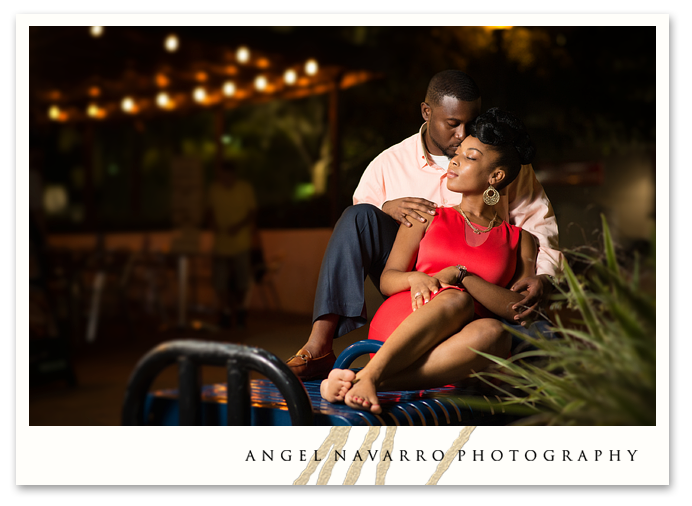 Relaxed Sarasota World of Beer Love Engagement Session