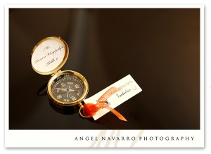 Wedding Favours, Old Style Compass