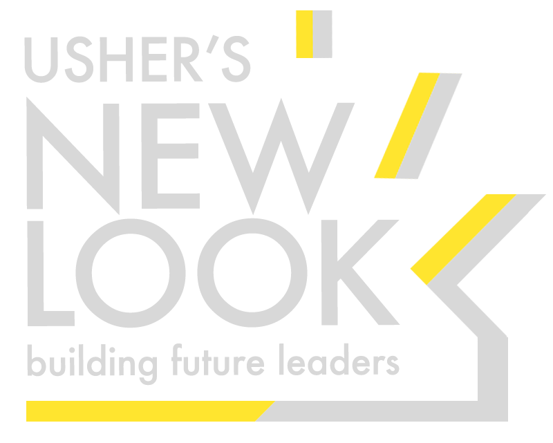 Ushers New Look Logo