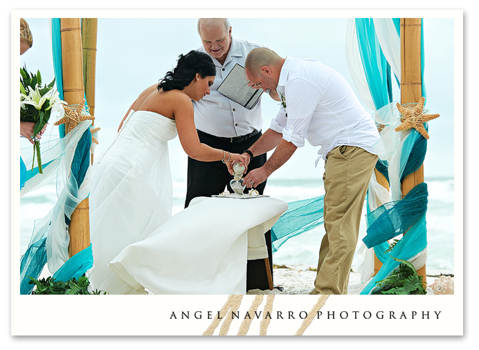 Sand Ceremony Beach Wedding
