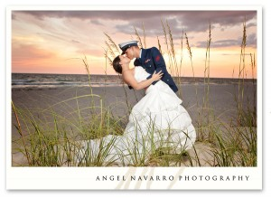 Best military wedding photography beach pictures