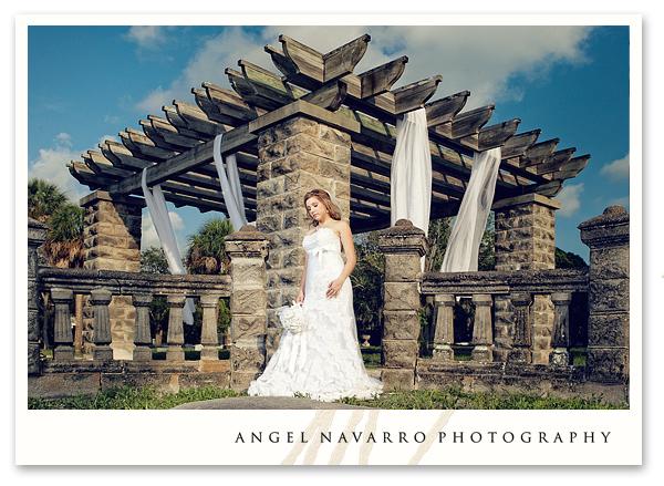 Bride wedding photographers ecclectic setting