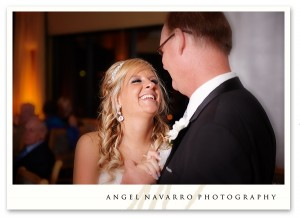 Father and Daughter Bride First Dance