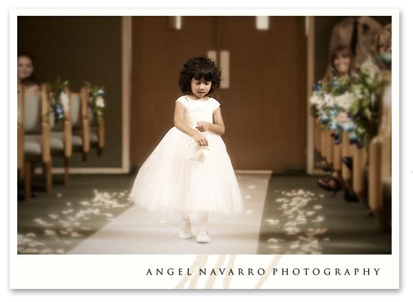 Photo of flower girl.