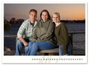 High School Senior Family Portrait