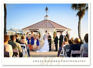 Outdoor Wedding at the Bradenton Yatch Club