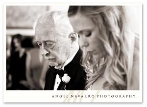 Father of the bride - ceremony, wedding, Sarasota, Florida