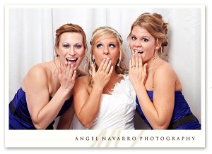 Silly Bridesmaids Photo at Wedding Reception