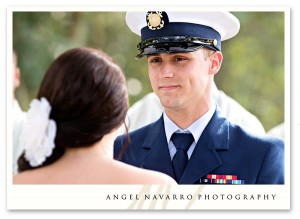 Soldier wedding ceremony